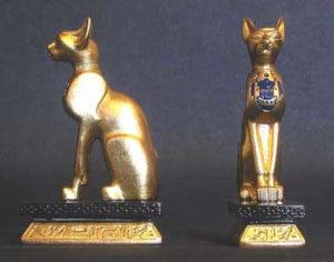 Gato del antiguo egipto